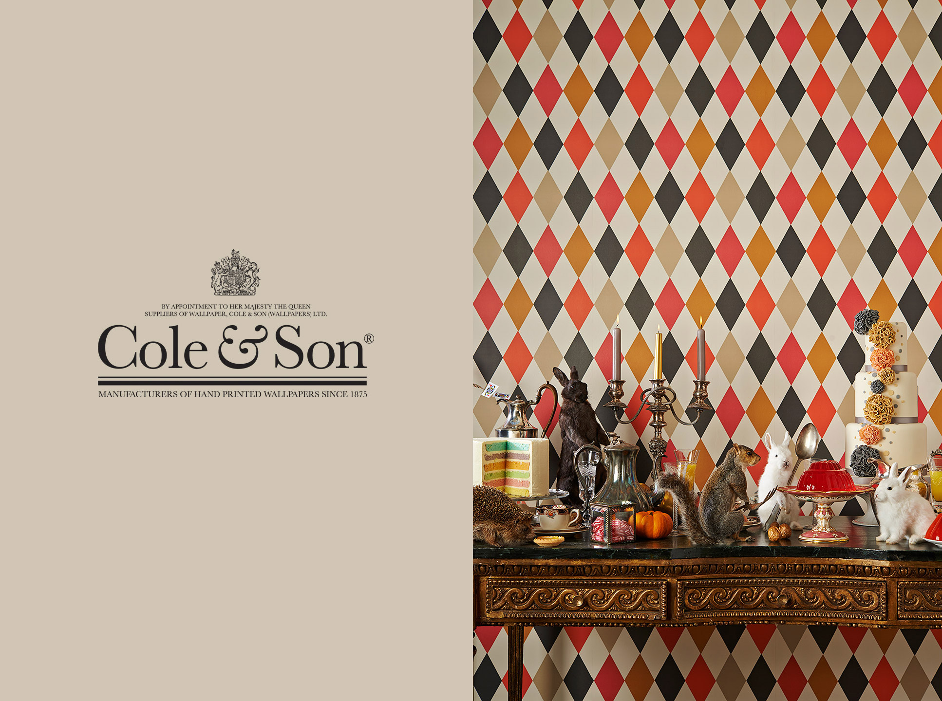 Cole & Son Wallpapers | Advertising