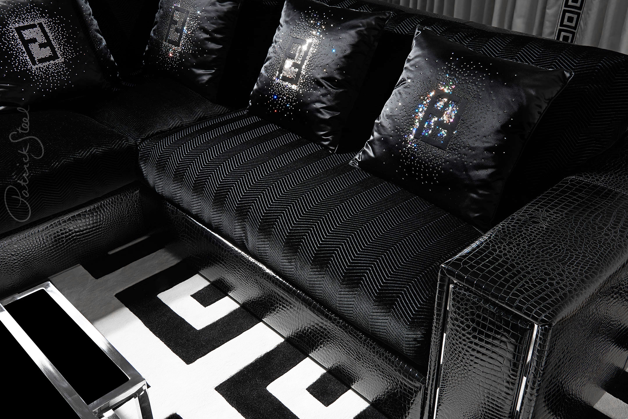 Mr Steel | One Hyde Park | Interior design by Candy & Candy