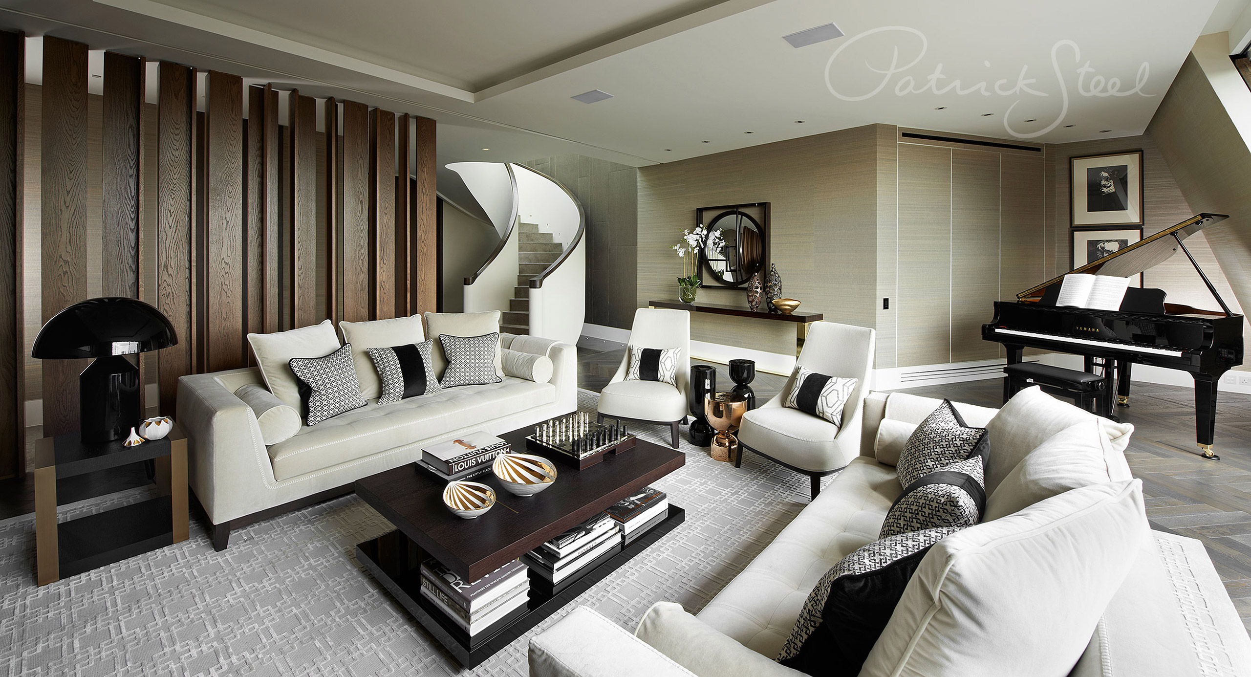 photograph interior living room patrick steel interiors photographer london