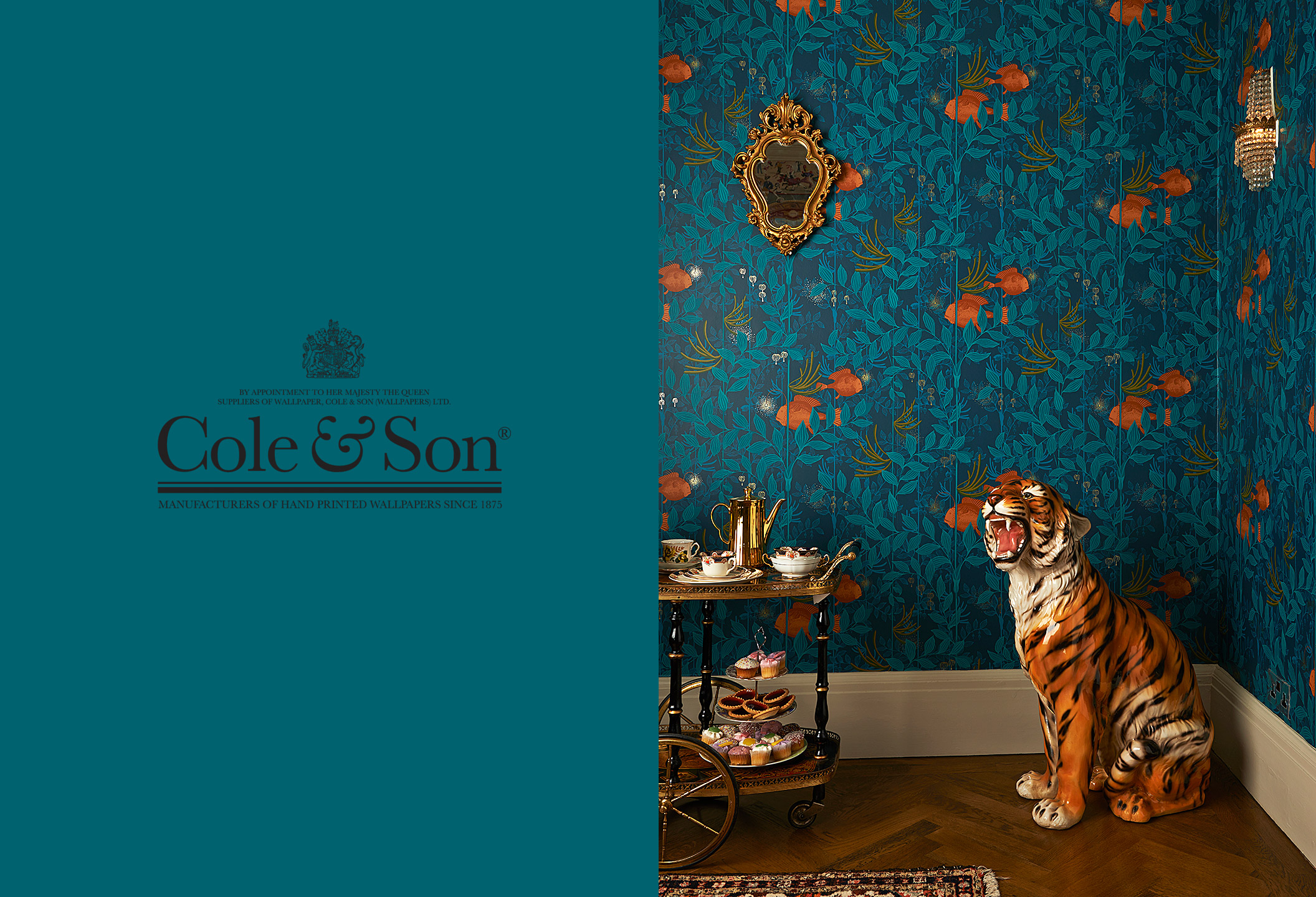 cole and son wallpaperwhite tiger wallpaper driverlayer search engine. Black Bedroom Furniture Sets. Home Design Ideas