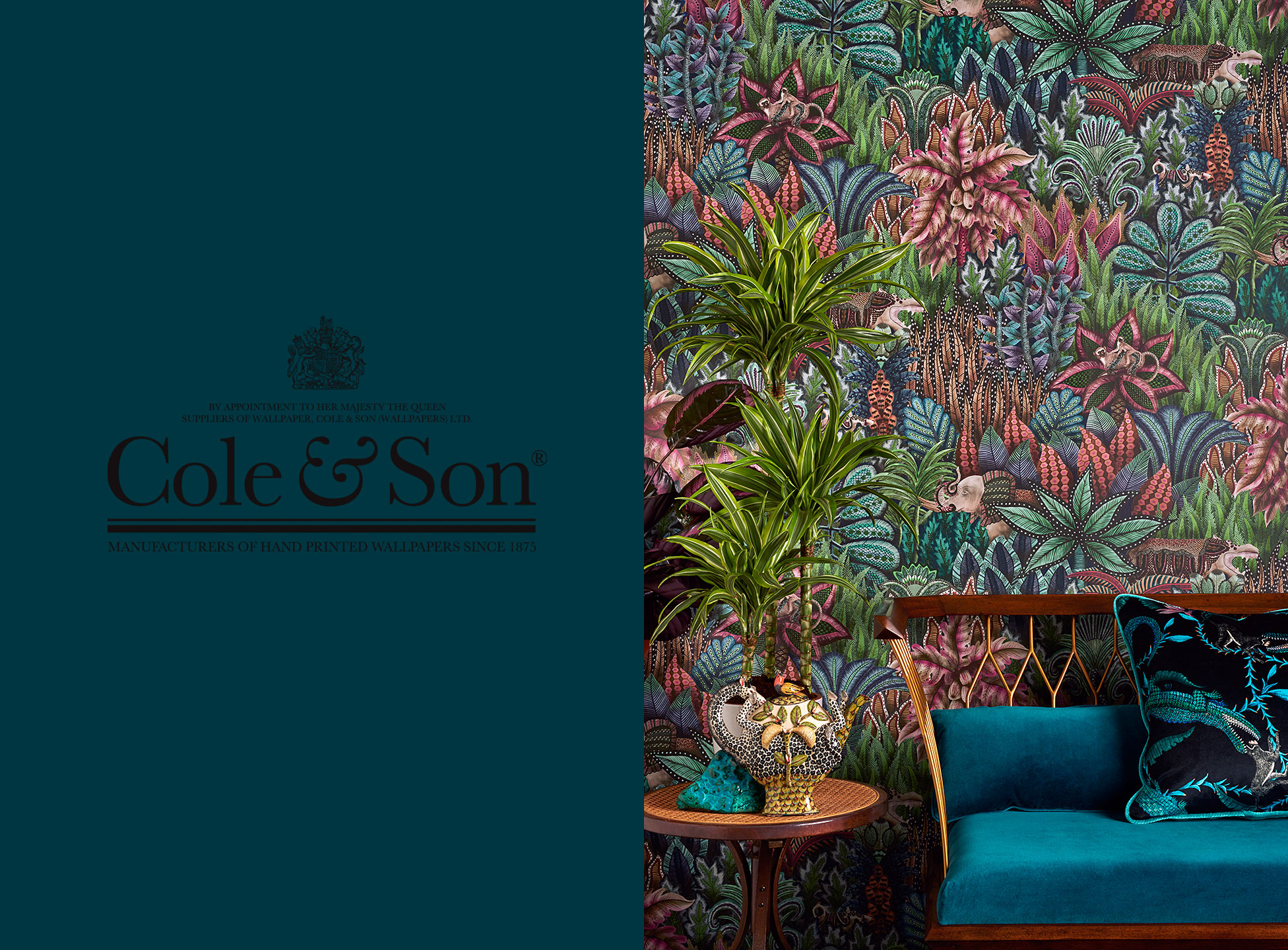 Mr Steel   Cole & Son Wallpapers
