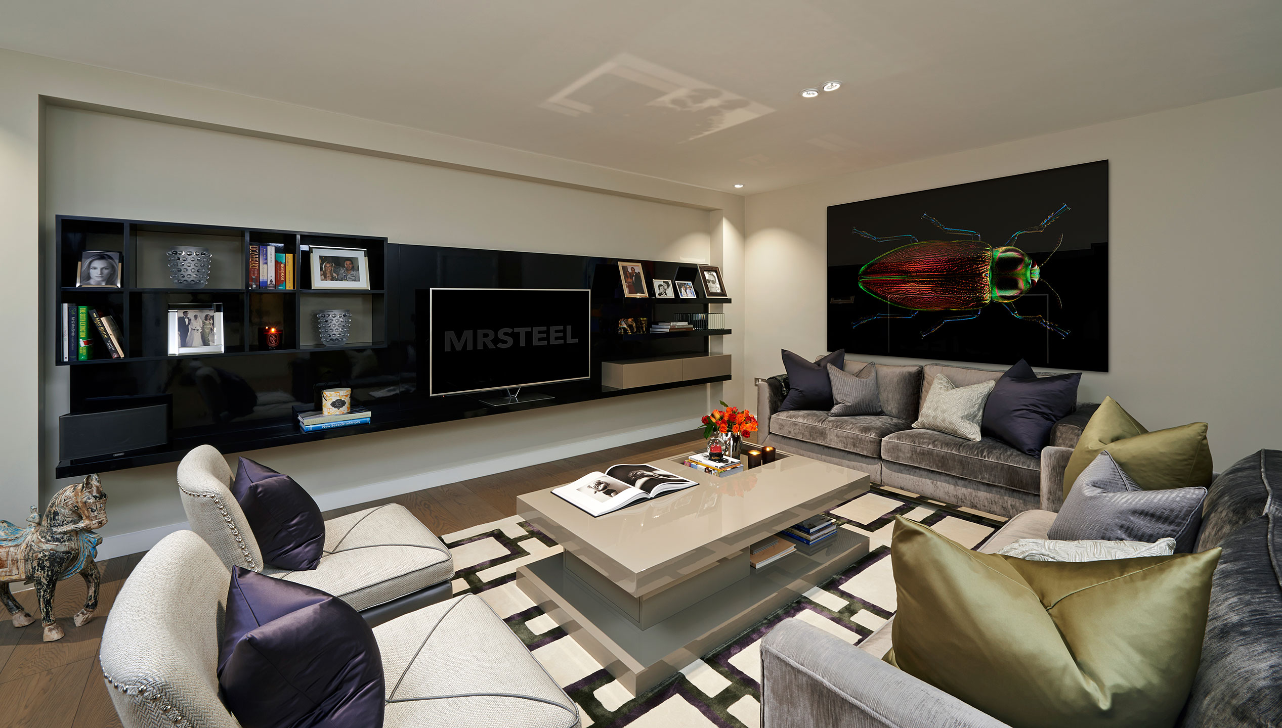 photograph professional interior photographer patrick steel living room interior